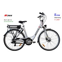 Popular Electric City Bike with 300W Rear Motor