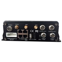 12Channels AHD 720P 960H  Mobile DVR with 3G ,4G ,GPS