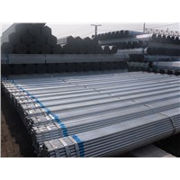 Galvanized steel Pipe factory/Galvanized welded pipe price/galvanized hot rolled pipe