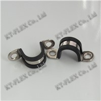 Insulated D type wire cable clip