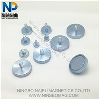 Znic coating thread magnetic pot