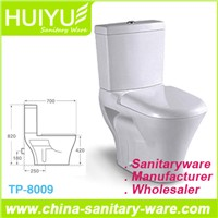Sanitary Wares High Quality Washdown Two Piece Ceramic Toilet