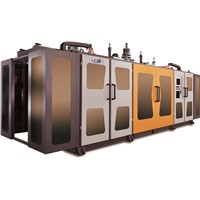 full automatic extrusion blow molding machine(2 station)