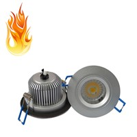 Un-adjuatble 6W Fire Rated LED Down Light/Waterproof LED Ceiling Spotlight-A