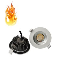 10W Fire Rated And Waterproof LED Down Light/100LM/W Dimmable LED Down Lamp