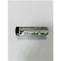 R6P AA 1.5V zinc carbon battery