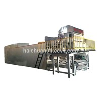 Automatic egg tray machine HC5008 haichuan in custom