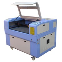 60w laser cutting machine, co2 laser, work on paper,cloth ,stone