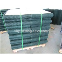 "mesh 3/4"" PVC coated hexagonal wire mesh"