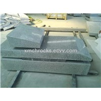 Jewish style tombstone, Light grey granite tombstone, G603 jewish tombstone