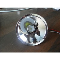 110mm white alumium reflector cup 3-5w  LED headlamp and flashlight