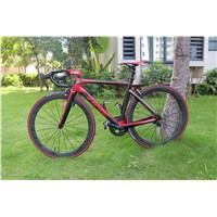 2015 Road Racing Bike Carbon Frameset Compatible Di2 Light Frame 1060g Matt/3k full size
