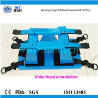 Medical Pedratrics Children Head immobilization block