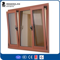 Rogenilan double glazed heat insulated aluminum tilt and turn window hinges
