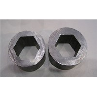 SAE1010 Special Steel Pipe Inside Hexagonal Seamless Flat Oval Steel Tube