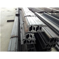 U71Mn Crane Rail QU100 Steel Products YB T5055-93 Standard Steel Rails