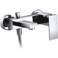 brass bathtub shower mixer taps