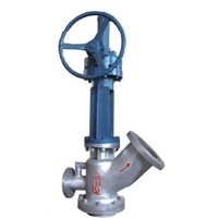 Coal slurry discharge valve