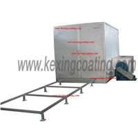 PCO28501G gas powder coating oven