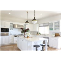 Pure White Quartz Stone Solid Surface and Countertop