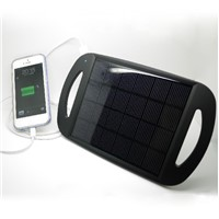 Solar Panel Charger with Holder for Mobile phones+2.5W solar pv cell phone charger