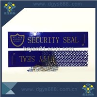 VOID tamper evident security seal