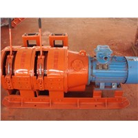 china coal 8KN Scraper Winch for sale 2JP-7.5