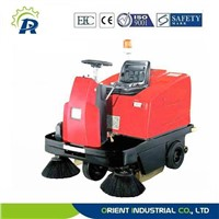 commercial small floor sweeping car