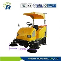 driving type sweeper