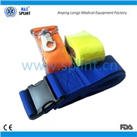 EMS patient transport fix strap/ medical strap/ back board strap