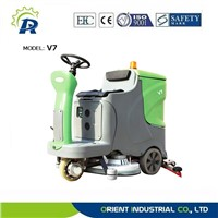 industrial floor scrubber with CE
