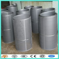 Stainless Steel Round Hole Perforated Metal for Sugar Grinder