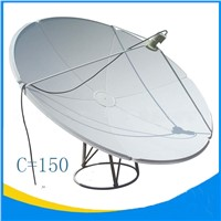 5ft satellite dish antenna 150cm dish antenna hot selling