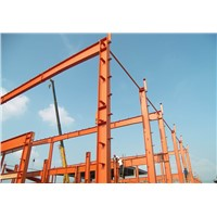 Large Wide Span Light Steel Structure Construction Frame Warehouse