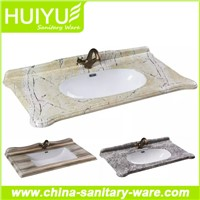New sanitary ware ceramic prodcuts bathroom cabinet basin