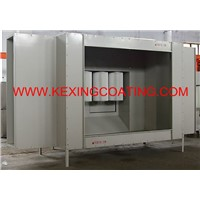 pcb34001 powder coating booth cabine