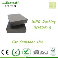 Wood vinyl composite China solid flooring anti-peeling outdoor wpc decking
