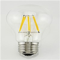 A60 Retro 3 w tungsten filament bulbs E14 Edison filament lamp glass ball steep light