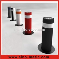Access Control Electric Hydraulic 316 Stainless Steel Automatic Road Bollard
