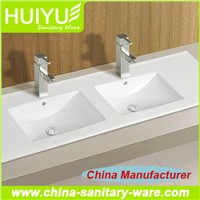 Best selling hot product bathroom featheredge ceramic basin