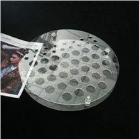 High Clear acrylic cosmetic display