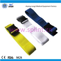 waterproof plastic buckle ambulance stretcher medical strap