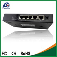 poe gigabit switch 48v 2A 4 port in CCTV Products (TSD-PSE204G)