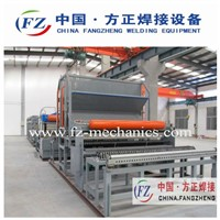 Full-auto wire mesh welding machine for construction, fence, cage, etc.