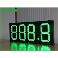 LED gas station led price sign ,gas price signs digital,gas station led price display