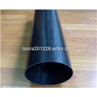 Round &Oval Shape high quality  Carbon fiber tube, carbon fiber tubing