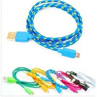 Wholesale cable 24awg 2c usb cable for sync and charger