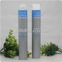 collapsible aluminum hair color cream tube