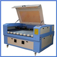 1612 high efficiency fabric, leather, wool felt auto-focus laser cutting machine