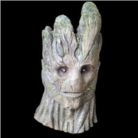 Adult groot latex full head halloween mask cosplay costumes